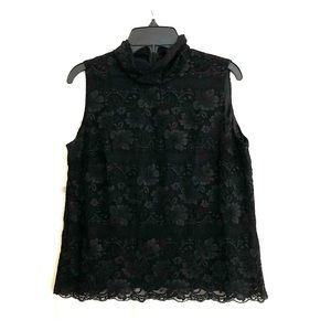 Black Lace Top by Josephine Chaus
